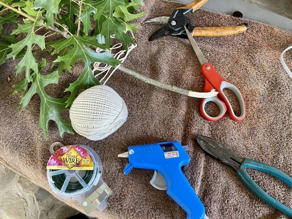 DIY Garland supplies