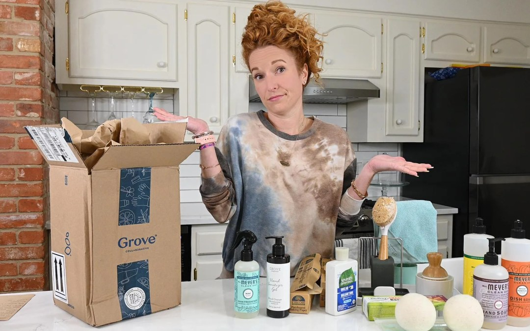 Grove Collaborative Empties & Unboxing