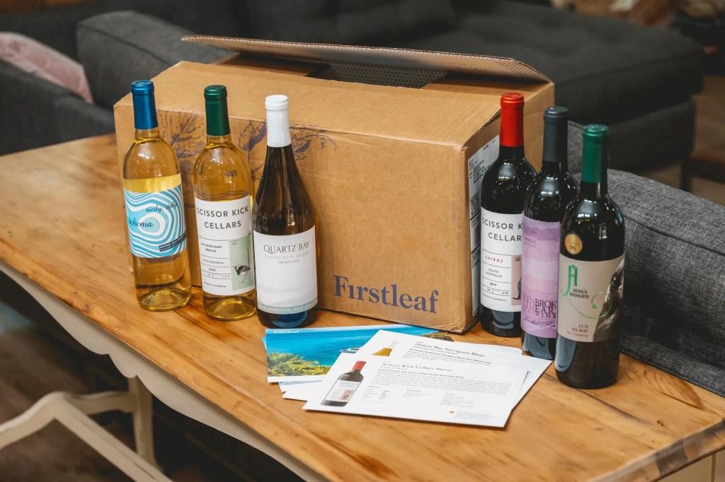 Firstleaf Wine Reivew premium wine subscription box