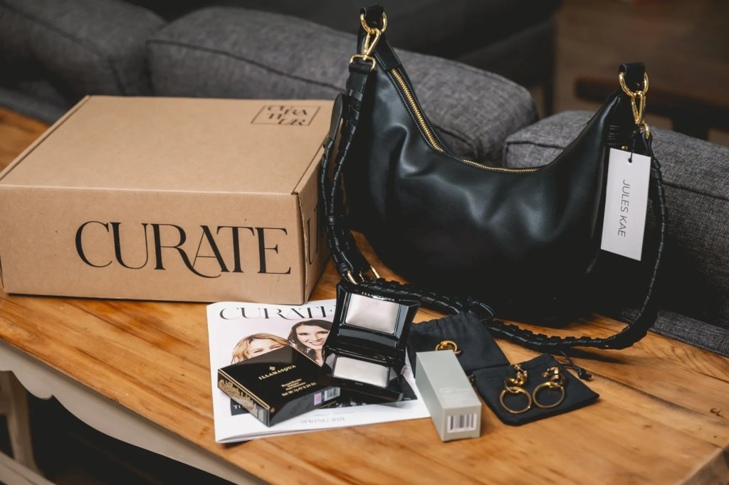 Curateur Review formerly Box of Style bby Rachel Zoe luxury jewelry subscription box