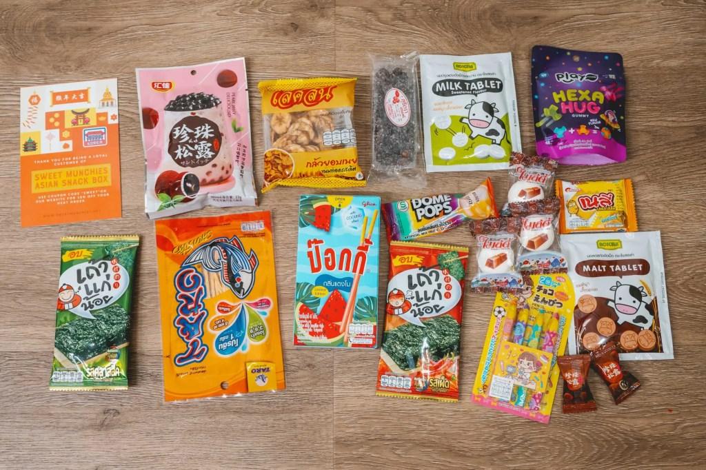 Sweet Munchies - Asian Snack Box