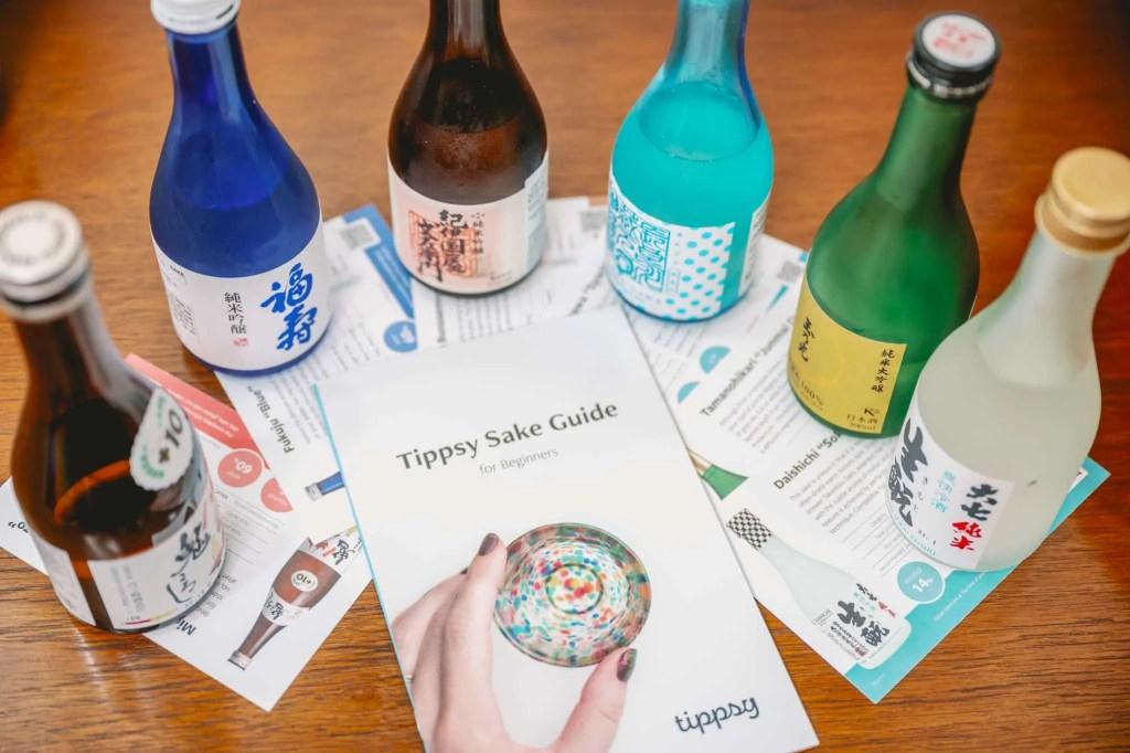 Tippsy Sake Tasting Guide