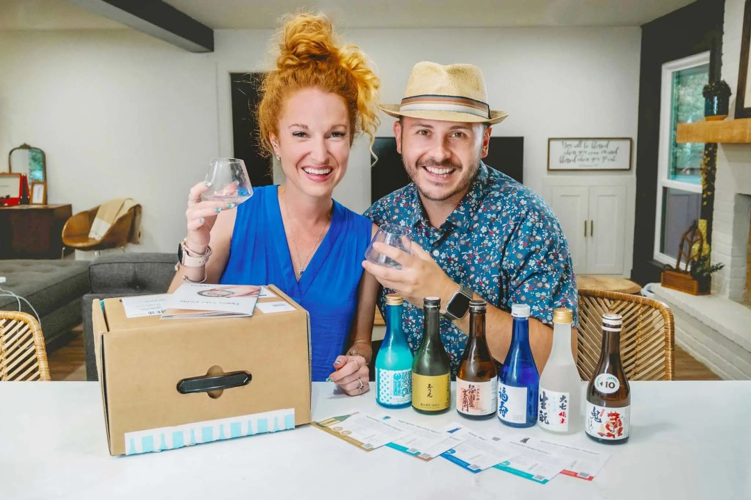 Tippsy Sake Tasting Box
