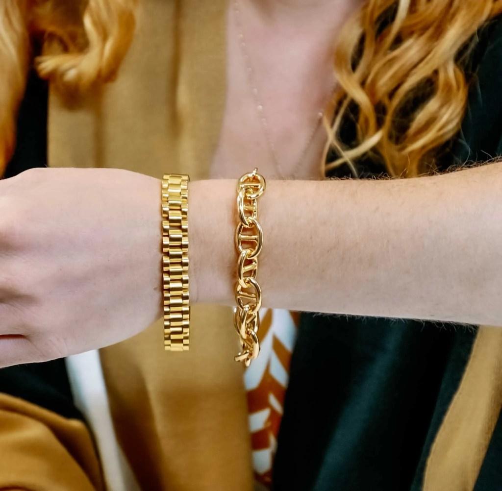 Oma the Label Timepiece Bracelet and The Abuja Bracelet
