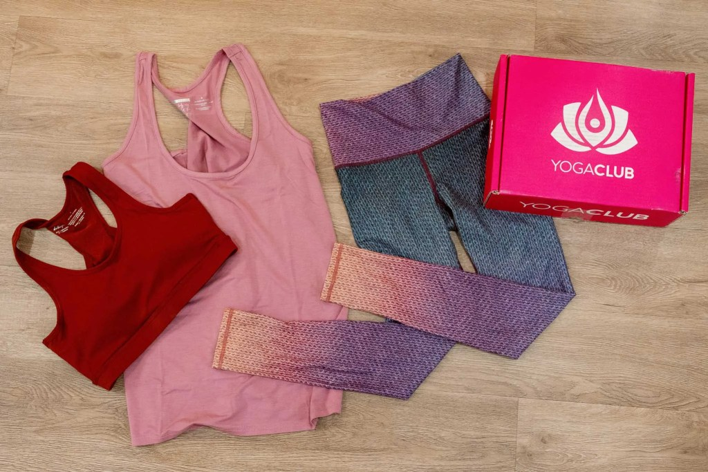 Yoga Club September 2021 Vintage Ombre Outfit