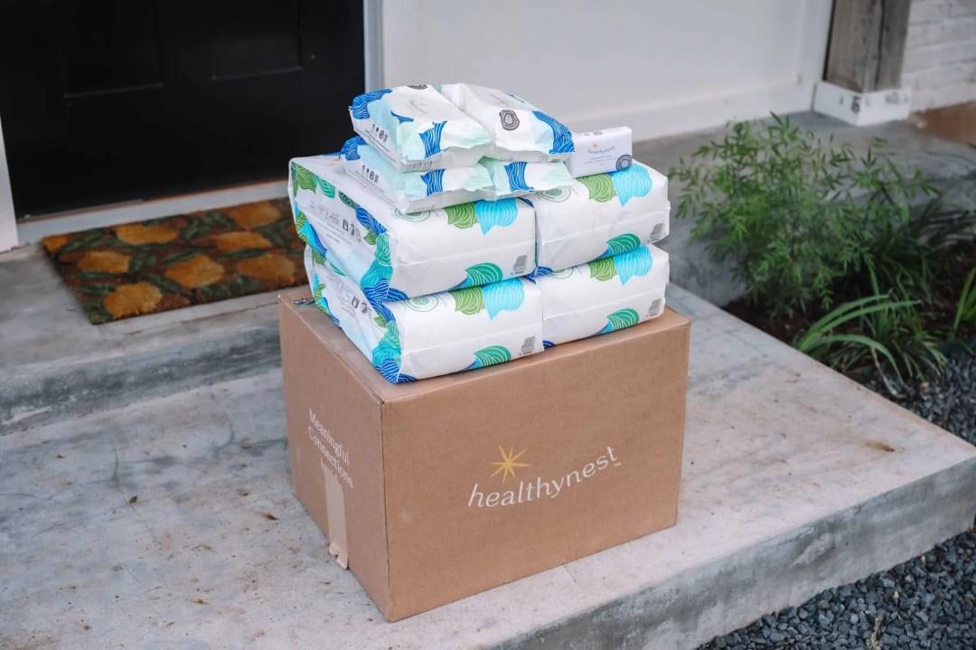 Healthynest Diaper Subscription Box