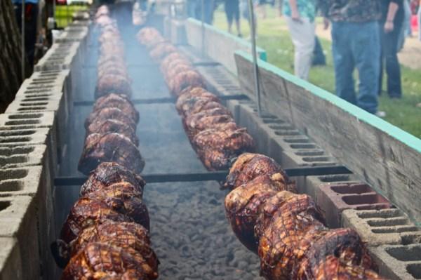 World's Largest Turkey BBQ in Aneta, North Dakota - The ...