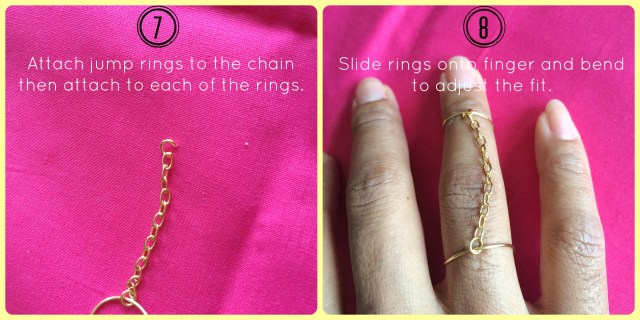 Midi Chain Ring Steps 6 to 7