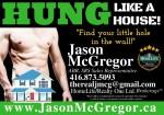 Jason McGregor, The Real JMcG – Sales Representative – HomeLife/Realty One Ltd., Brokerage