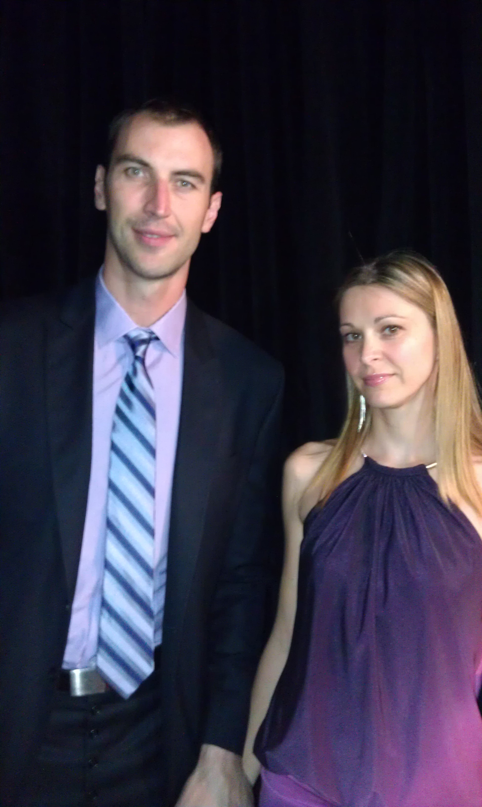 Bruins Zdeno Chara And His Lovely Wife The Pink Puck