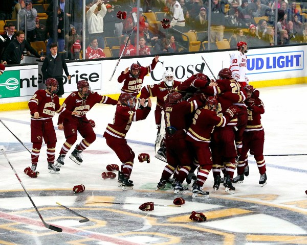 Beanpot History: BC Eagles Win 1-0 in OT | The Pink Puck