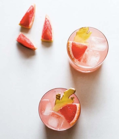 Grapefruit Ginger Cocktail