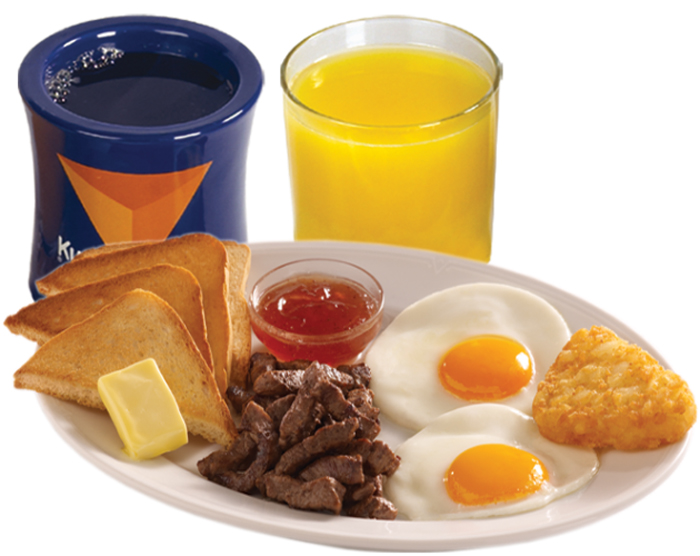 Steak and eggs, it couldn't get more affordable than this! (photo from www.kudu.com.sa)