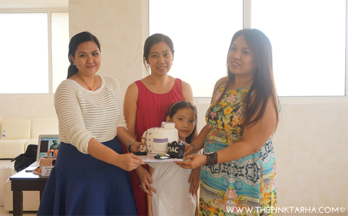 Congratulations My Cake Cravings' Odette and daughter Sophie.