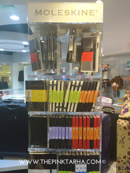 If you are a Moleskine fan, Mosafer is an offical distributor of it here in KSA.