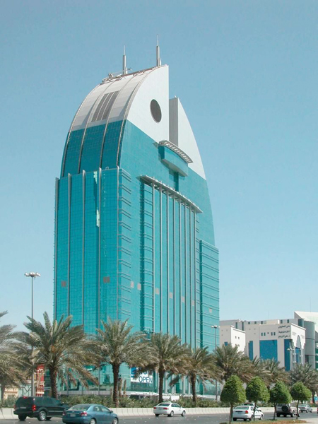 What do you think is the design of the Al Anoud Tower for?