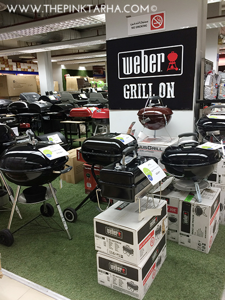 What outdoor activity would be complete without a good grill?