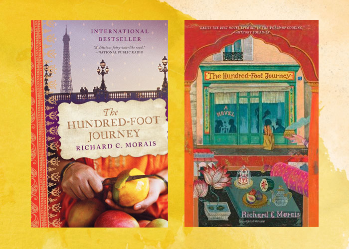 Gorgeous, gorgeous covers for a flavorful book.