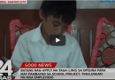 Grade 5 student applies for work to pay school contribution