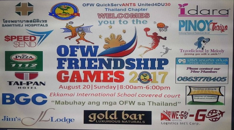 OFW Friendship Games Thailand