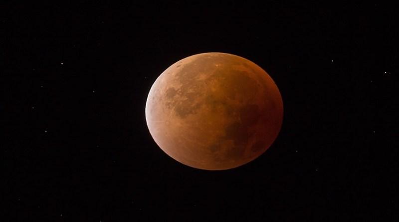 Moon Moon Darkness Blood Moon Night Sky Super Moon