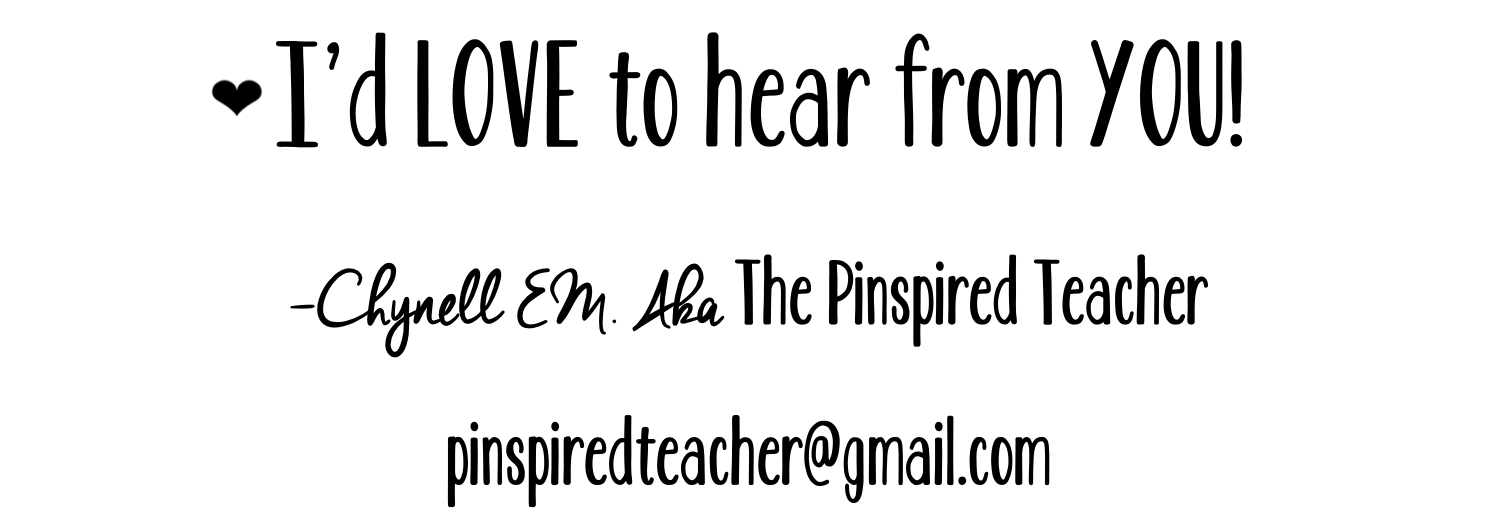 contact greeting by The Pinspired Teacher