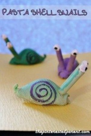 Pasta Shell Snails