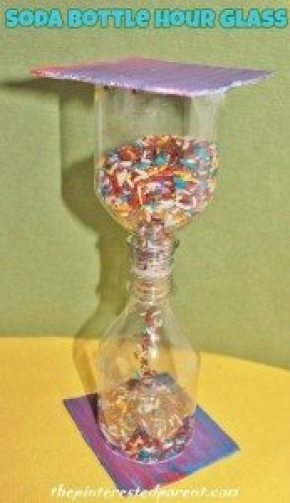 Soda Bottle Hour Glass