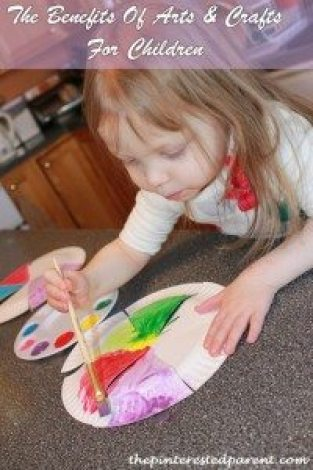 The Benefits Of Arts & Crafts For Children