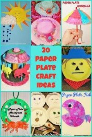 20 Paper Plate Craft Ideas