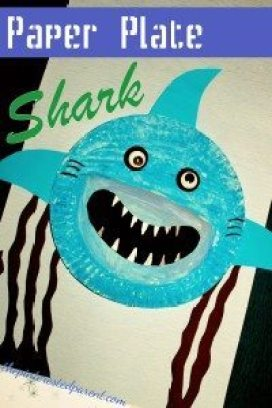PaperPlateSharkCraft