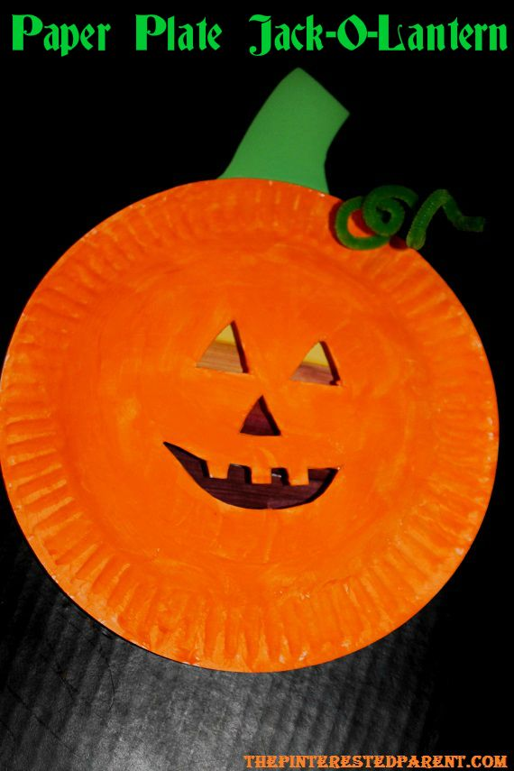 paper jack olantern 23 adorable pumpkin crafts for the pinterested parent 2626