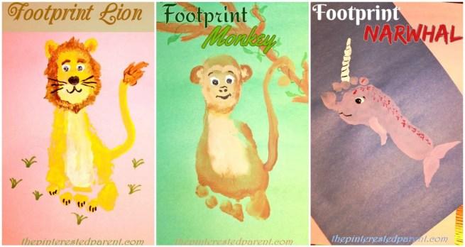 Footprint Crafts from L - N