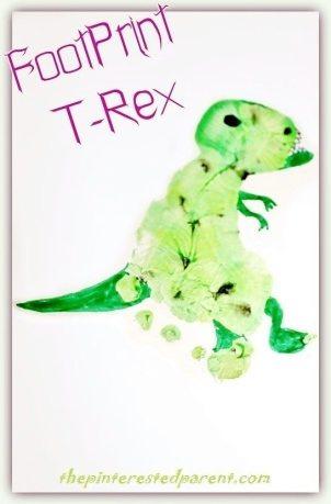 Footprint T-Rex