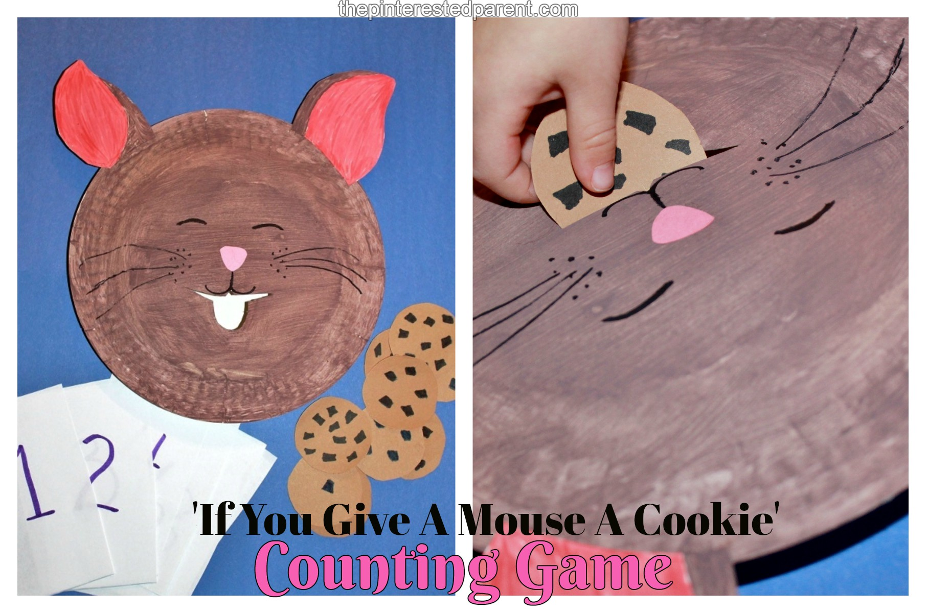 If You Give A Mouse A Cookie Counting Game The Pinterested Parent