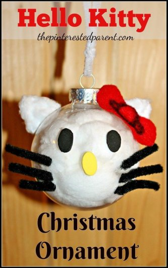 Hello Kitty Christmas Ornament