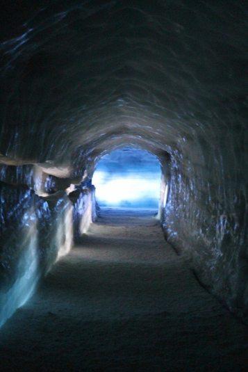 The ice cave of Langjökull glacier, Iceland