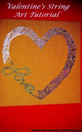 Heart & Love String art