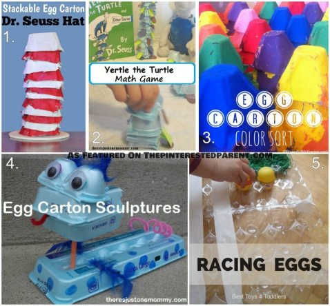 Egg Carton Activity Crafts For Kids