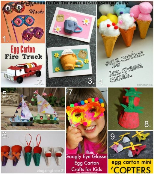 Egg Carton Crafts For Kids