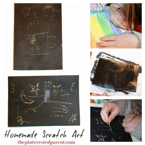 DIY scratch art cards for kids or adults. This craft was Inspired by Go To Sleep Little Farm.