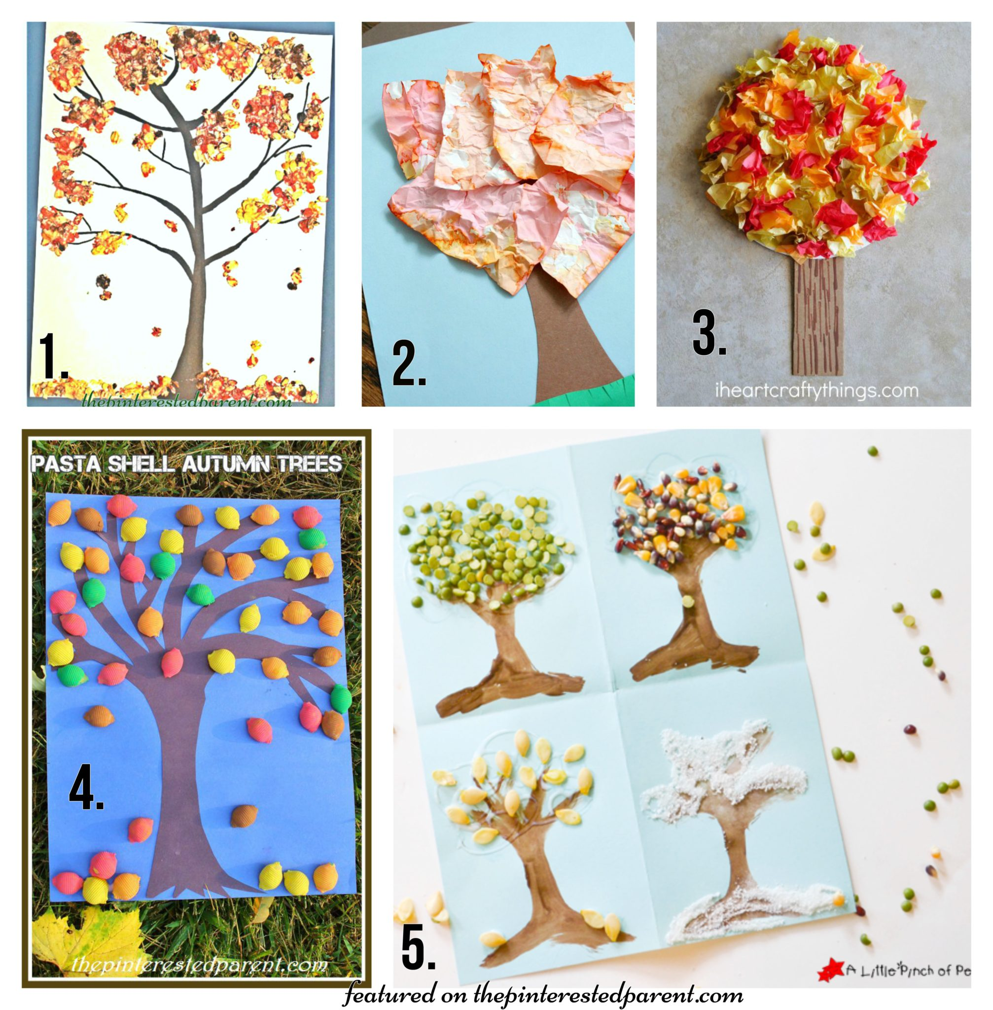 20 fall tree arts crafts ideas for kids the