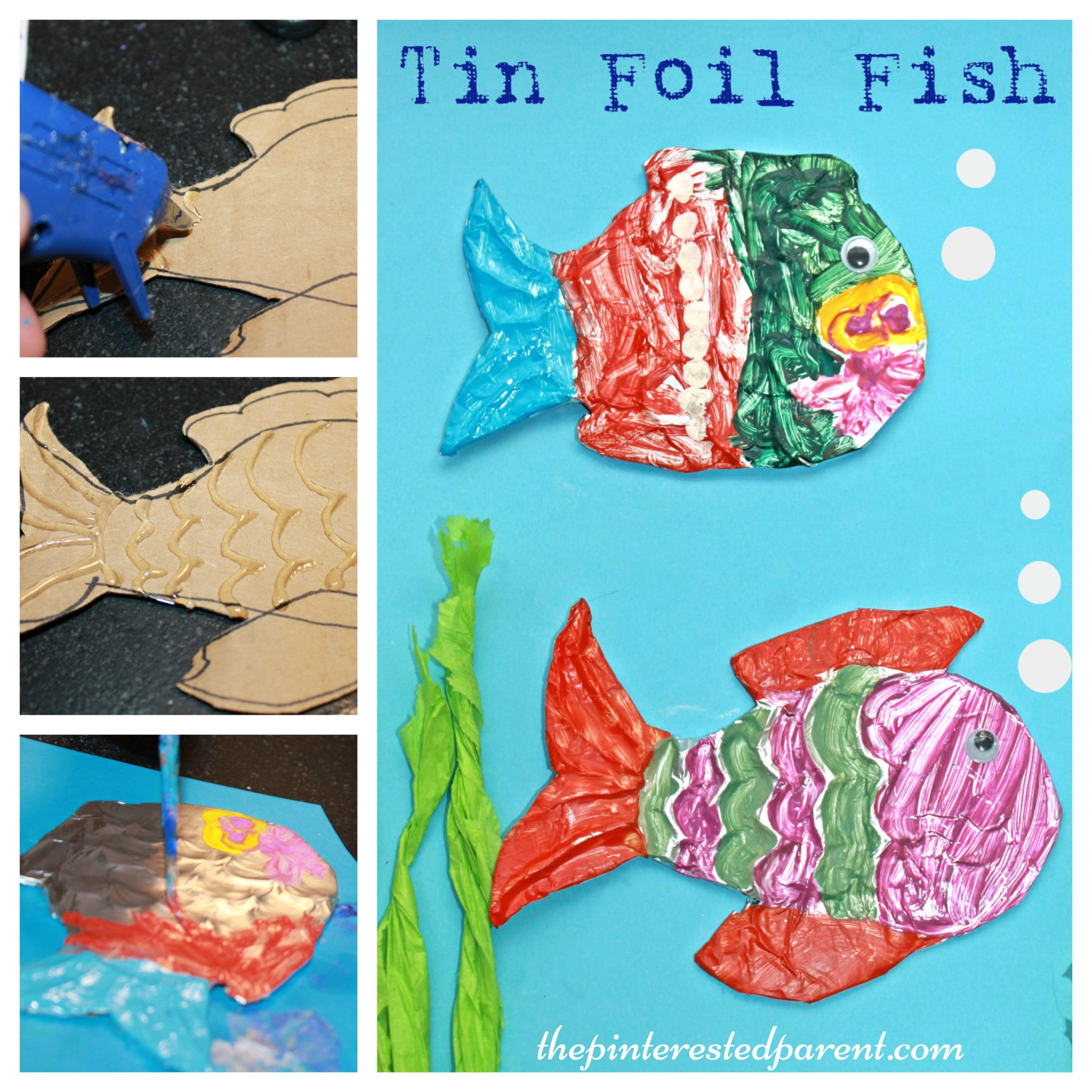 Tin foil embossing the pinterested parent for Tin foil fish