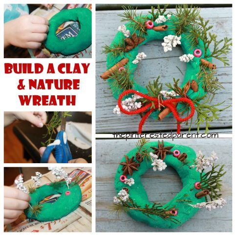 Build a beautiful winter wonderland with salt dough and nature materials and potpourri. A wonderful activity for the winter and Christmas. Kid's arts and crafts and sensory for toddlers and preschoolers.