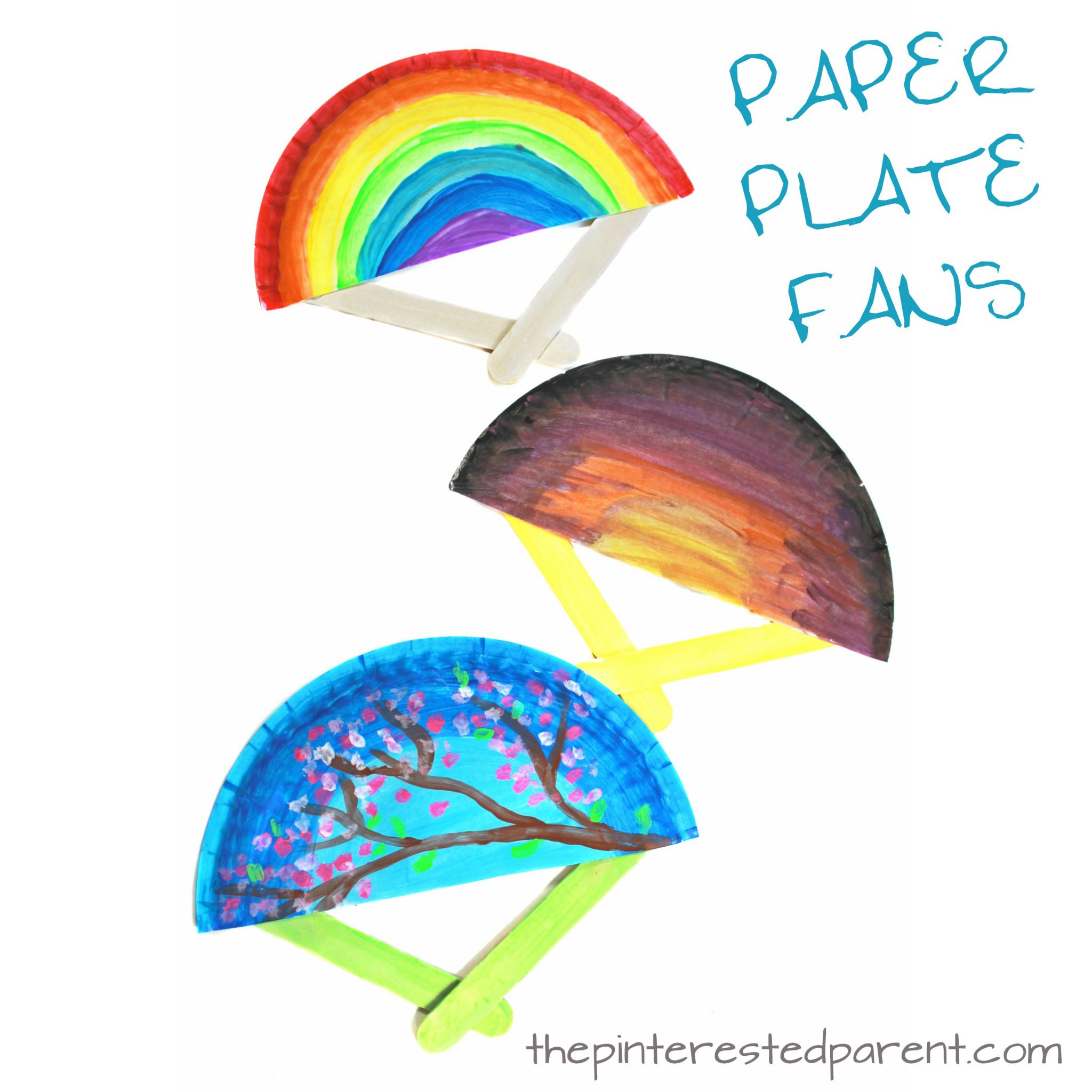 Spring And Summer Fan Craft The Pinterested Parent