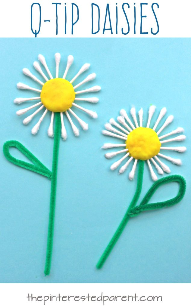 10 Lively Spring Flower Crafts For Kids Of All Ages