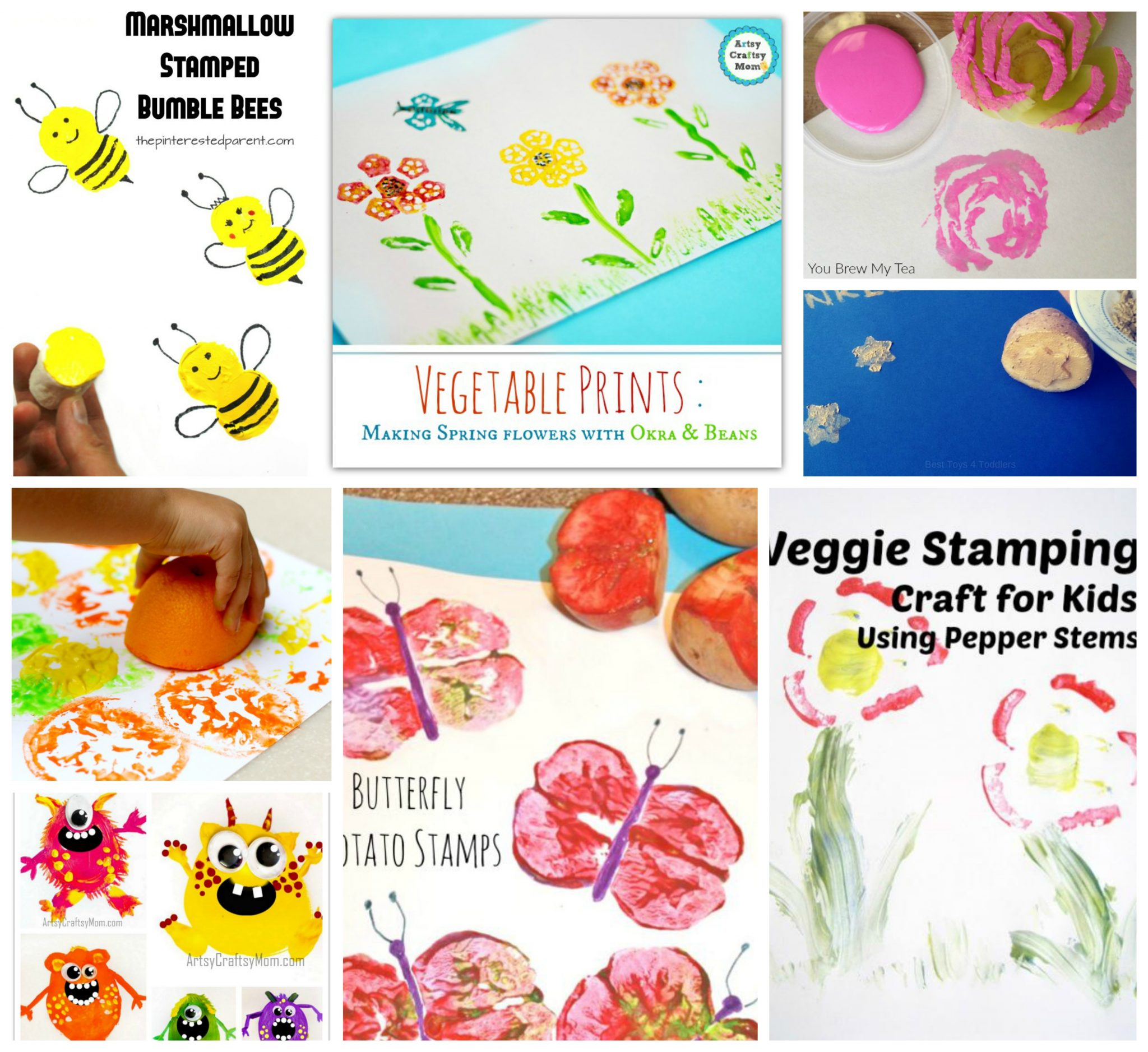 40 Printmaking And Stamping Ideas For Kids The Pinterested Parent