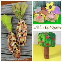 Stuffed Paper Bag Fall Crafts