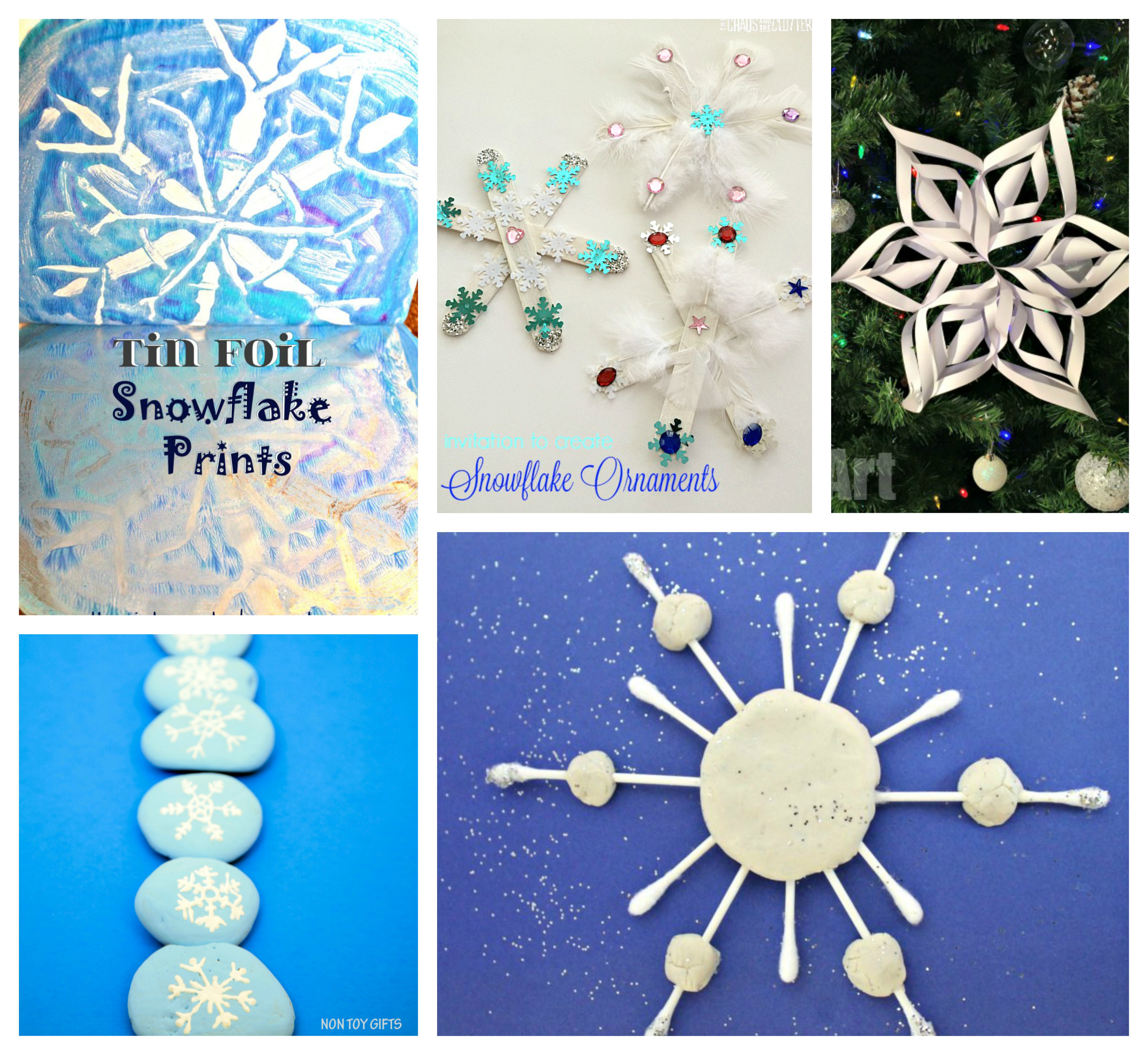 Snowflake Craft Ideas For Kids Part - 32: 25 Snowflake Arts And Crafts Ideas. Winter U0026 Christmas Arts And Crafts  Projects For Kids