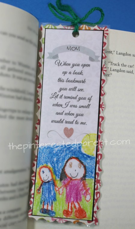 mother u0026 39 s day printable bookmark  u2013 the pinterested parent